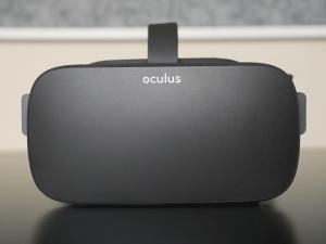 Oculus Rift CV1 front view