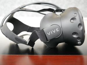 HTC Vive side view